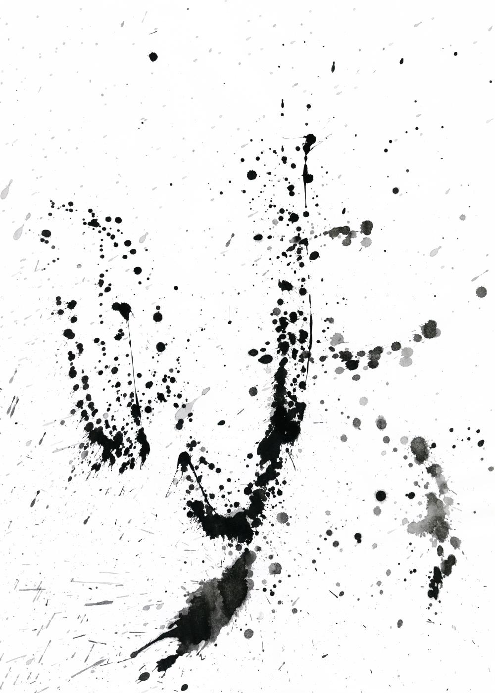 Ink Splatter 06 by Loadus