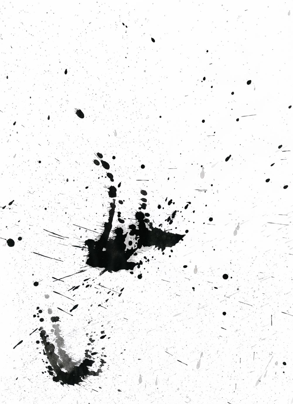 Ink Splatter 08 by Loadus