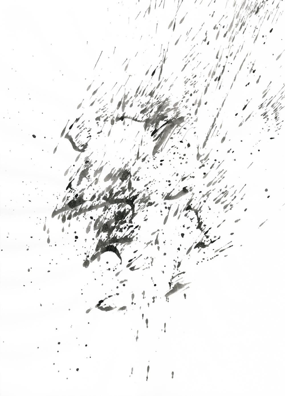 Ink Splatter 11 by Loadus